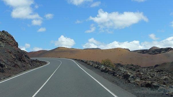Road, Away, Landscape, Nature, Asphalt, Long Gone