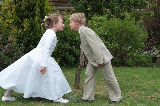 Children, The Adoption Of, First Communion, Child, Boy