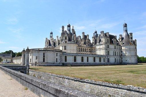 Chambord, Château De Chambord, Channel, Bridge