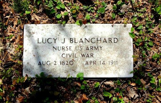 Cemetery, Graveyard, Gravestone, Tombstone, Civil War