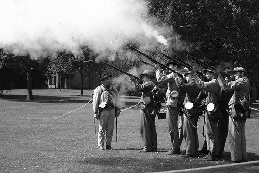 American Civil War, Reenactment, Civil War, America