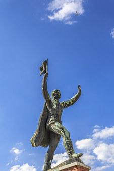 Statue, Communist, Communism, Monument, Sculpture