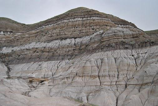 Drumheller, Alberta, Badlands, Canada, Erosion