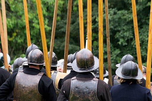 English Civil War, Pikes, Ancient Battle, Battle