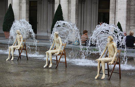 Installation Art, Water, Fantasy, Fun, Amusing, Awkward