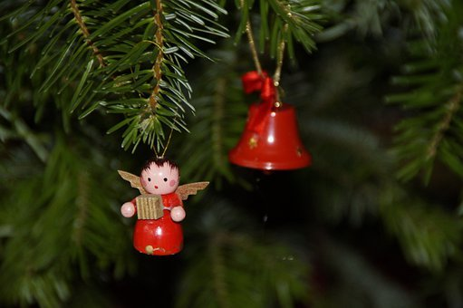 Angel, Christmas, Tree Decorations, Fir