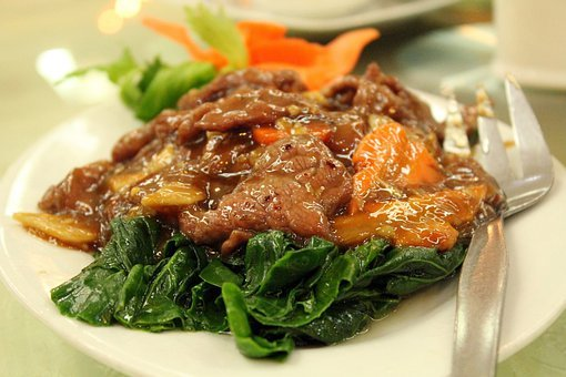 Beef Stew, Green Leafy, Vegetables, Beef, Food