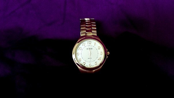 Watch, Gold, Time, Metal, Business, Jewelry, Hour