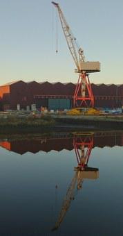 Warehouse, Shipyard, Industrial, Urban, Govan