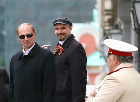Putin, Lenin, Stalin, Policy, Government, Costume
