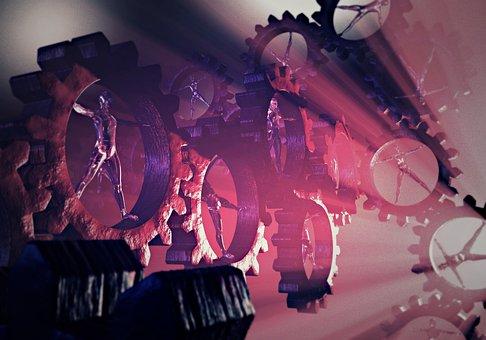 Human, Gear, Man Machine, Machine, Machinery
