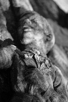 Child, Statue, Communist, Stone, Communism, Monument