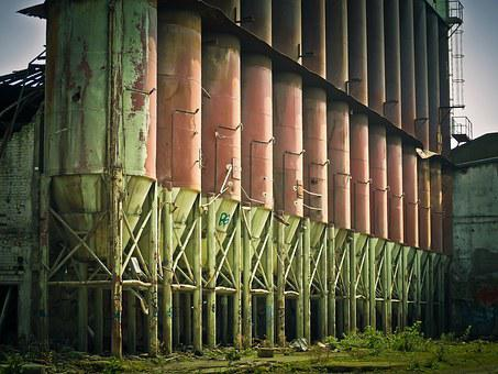 Factory, Ruin, Old Factory, Abandoned, Lapsed, Decay