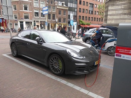 Electric Car, Porsche, Save Energy, Power Supply