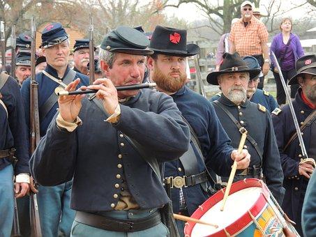 Appomattox, Fife, Civil, War, Battle, Regiment