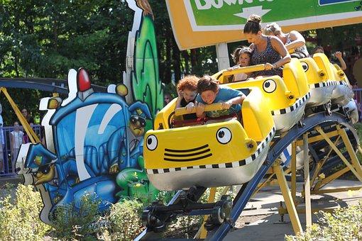Roller Coaster, Ride, Amusement, Park