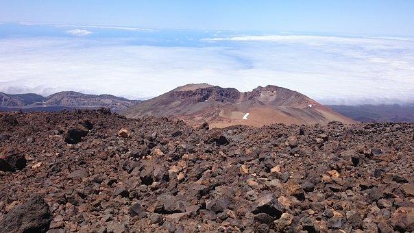 Volcano, Volcanic Rock, Nature, Rock, Teide, Background
