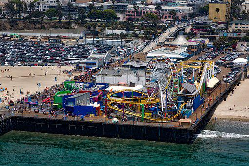 Santa Monica, California, Pier, Amusement Park