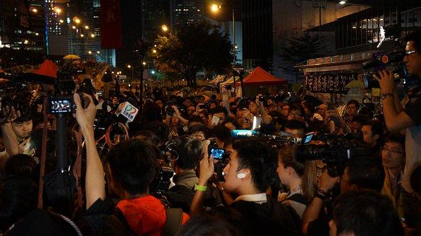 Reporters, Crowd Of People, Sensation