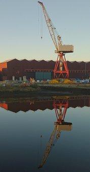 Warehouse, Shipyard, Industrial, Urban, Govan