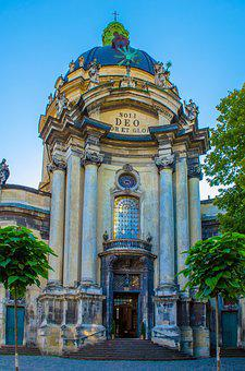 Lviv, Ukraine, Church, Cathedral, Sights, City, Tourism