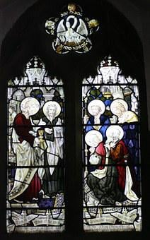 Stained Glass Window, St Michael's Church