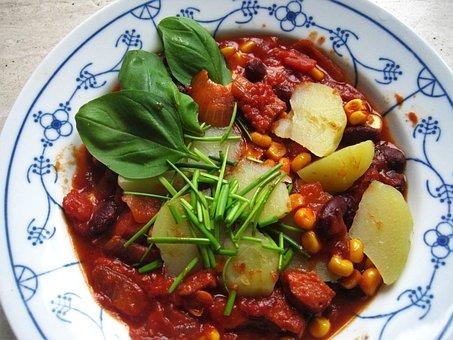 Autumn Dish, Tomato-corn Stew, Kukuruztopf, Stew