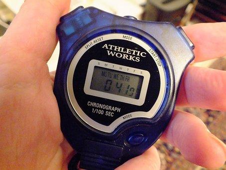 Stopwatch, Timer, Chronometer, Speed, Interval