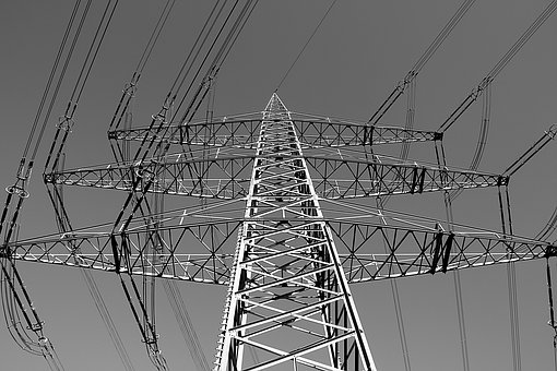Strommast, Current, Power Line, Electricity, Energy