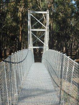 Swing Bridge, Pedestrian Bridge, Suspension Bridge