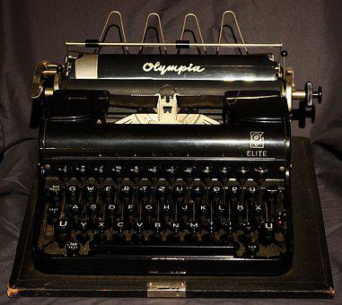 Typewriter, Antique, Old, Old Typewriter, Letters