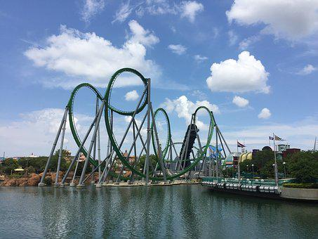 Roller Coaster, Universal, Universal Studios