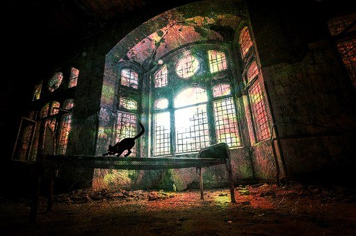 Ruin, Window, Decay, Leave, Building, Dilapidated