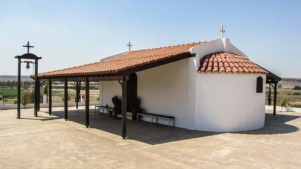 Cyprus, Potamia, Church, Orthodox, Architecture