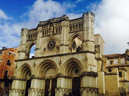 Cuenca, Spain, Cathedral, Architecture, City, Medieval