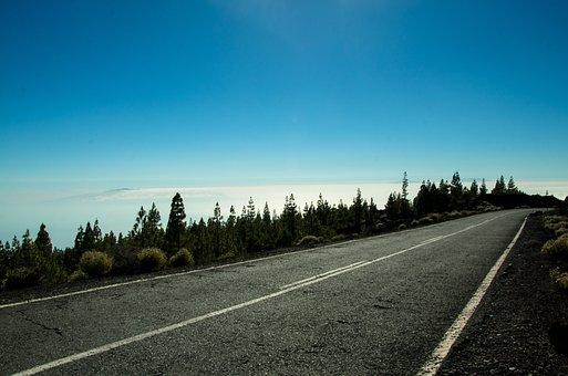 Highway, Landscape, Tenerife, Beauty, Nature, Holidays