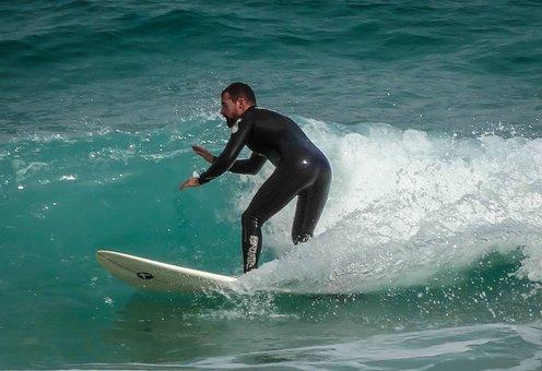 Surf, Beach, Surfer, Tablista, Fun, Sports, Waves