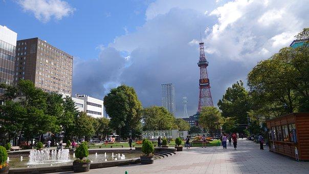Japan, Construction, Odori Park