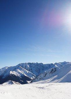 Mountain, Alps, Snow, Landscape, Winter, Ski