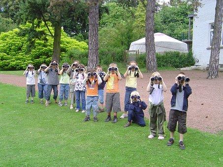 Children, Nature, Activities, Park, Mariemont