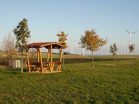 Austria, Autumn, Field, Country, Cyklo