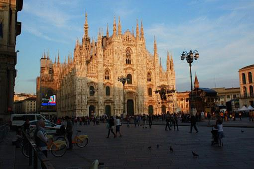 Milan, Duomo, Italy, Cathedral, Monument, Dome
