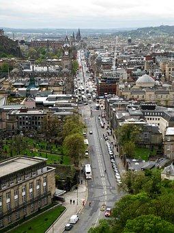 Edinburgh, Street, City