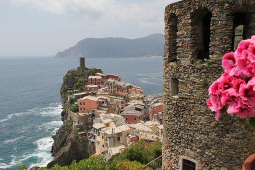 Sea, Rocks, Travel, Italy, Sicily, Beach