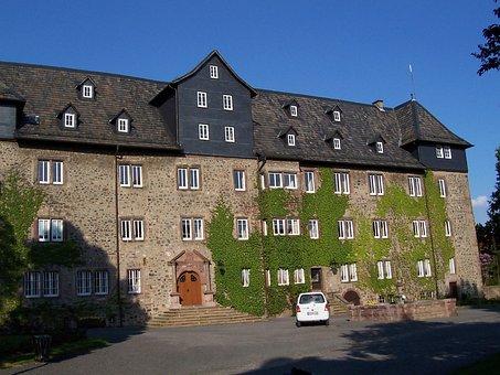 Castle, Lauterbach, Upper Hesse, Vogelsberg Mountains