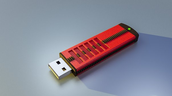 Usb, Technology, Memory, A Part Of The, Computer