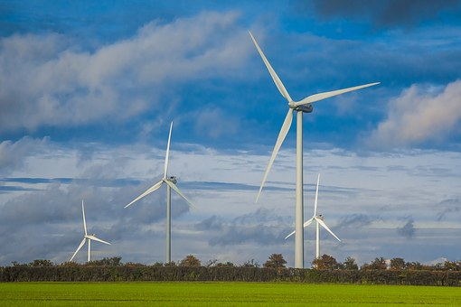 Wind Turbines, England, Power