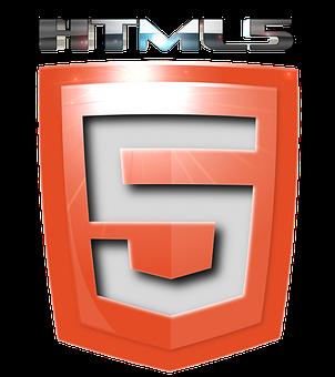 Html5, Icon, Graphics, 2d, Shield