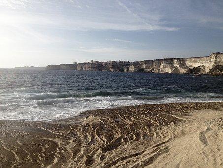 Beach, Sand, Water, Waves, Shore, Sea, Ocean, Rocks