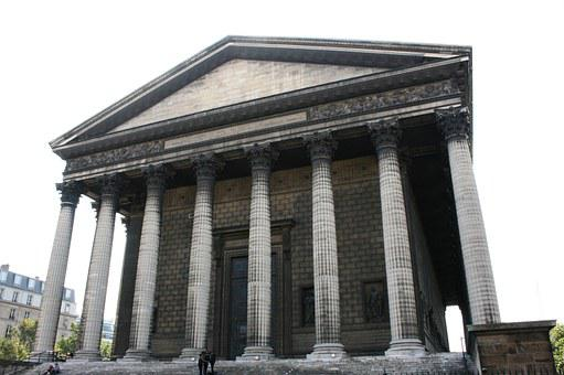 Columns, Church, Madeleine